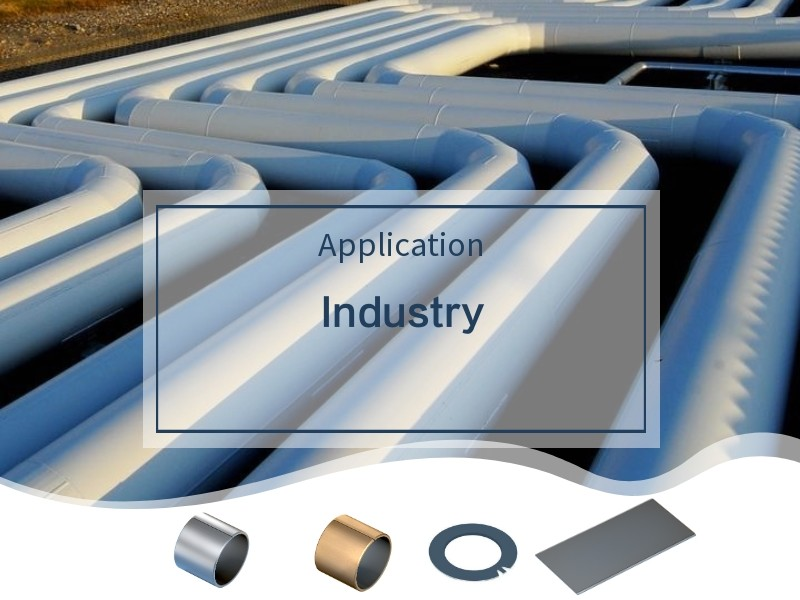 company cases about Self-lubricating Bronze Bearing for Oil & Gas/Energy