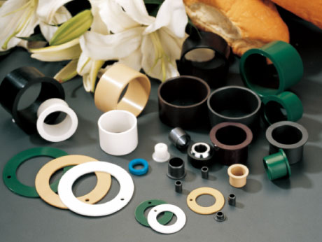 Metric Plastic Plain Bearings | Metric Plastic Flanged Sleeve Bearings