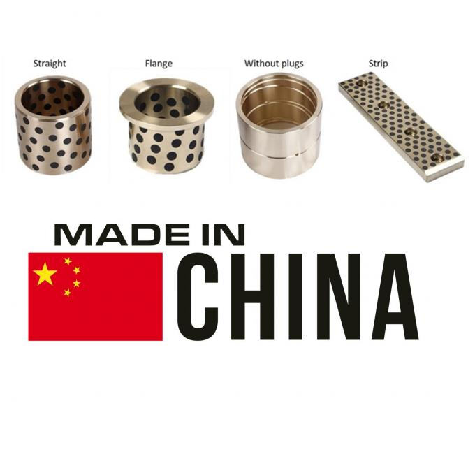latest company news about Where To Use Graphalloy Bearings and Bushings?  2