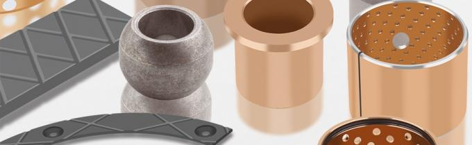 Long Life Steel Self Lubricating Bronze Bushings Sizes Viiplus Internatioanl DIN 1494 Bimetal bushes