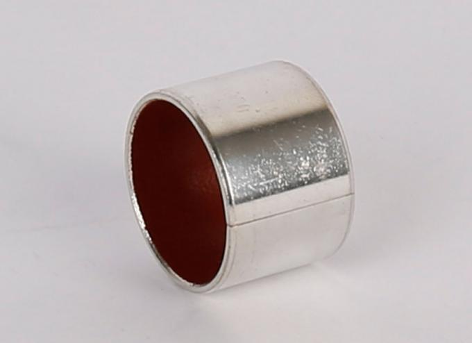 Red PTFE Corrosion Resistance Stainless Steel Bushings For Marine Industrial Machinery
