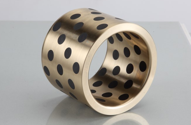 C95400 America Graphite Plugged Oiles Aluminium Bronze Bearing | Plain Cast Bronze Bushings