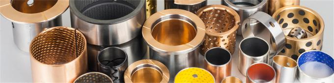 Railways - Plain Bearings & Self-lubricating Bushings PTFE Sleeve Bushings - Heavy Duty Linear plain bearings