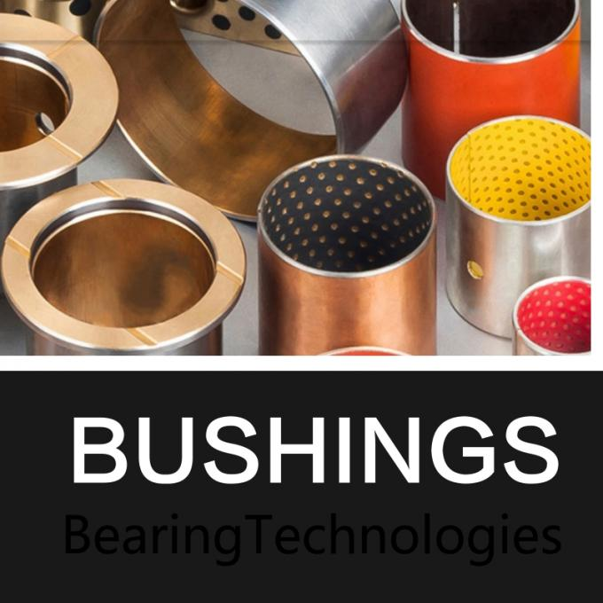 Easy to install highly durable Tin Or Copper Plating Oiles Plastic Plain Bearings Textile Machinery Spare Parts