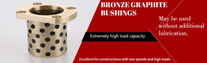 Grader Graphite Bronze Bushing , Wrapped Bronze Bushings High Demand For Reliability