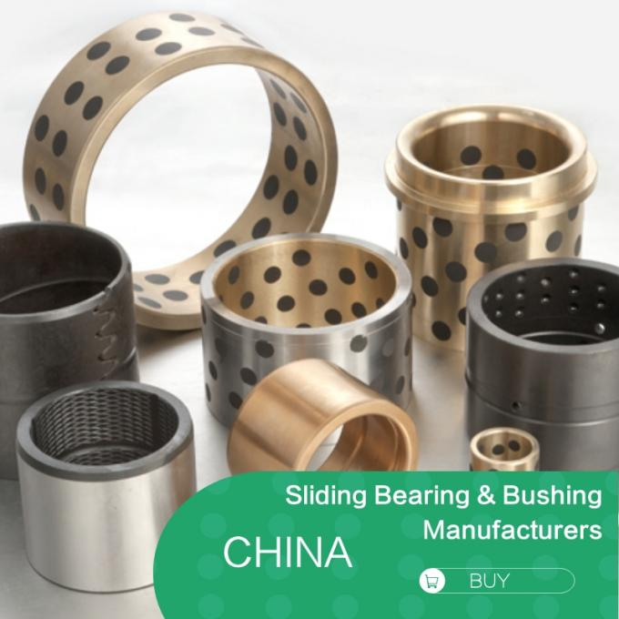 C86300 ASTM UNS / SAE Casting Copper Alloy Bronze Sleeve Bushing with Graphite 0