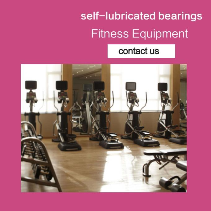 Body Fitness Sleeve Bushes & Self-lubricating bearings Running Machine Belt Conveyor Bushes