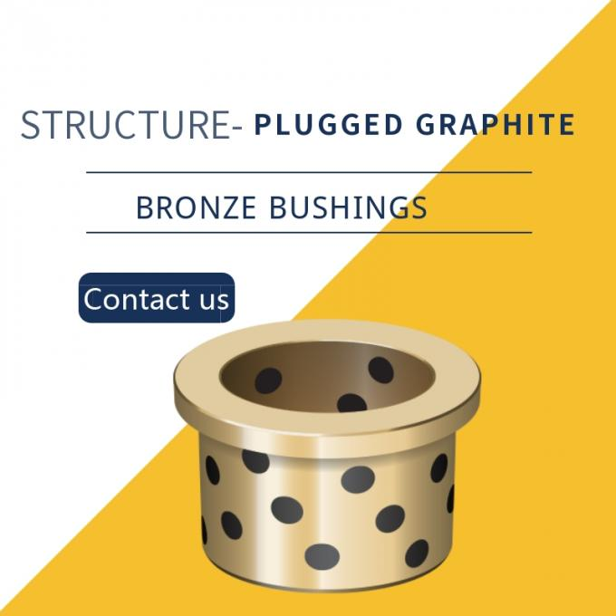 Continuous Cast Bronze Plugged BushinG Centrifugal Castings C86300 SAE 430B Manganese Bronze Double loop groove