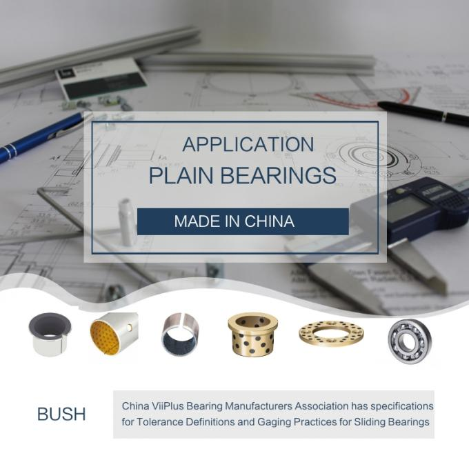Cam Slide Bearings | Bronze Bushing with Graphite Plugs Guide Die Bushes