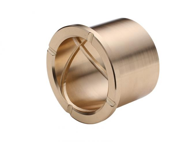 Centrifugal Casting Bronze Sleeve Bearings With Oil Grooves Brass Parts