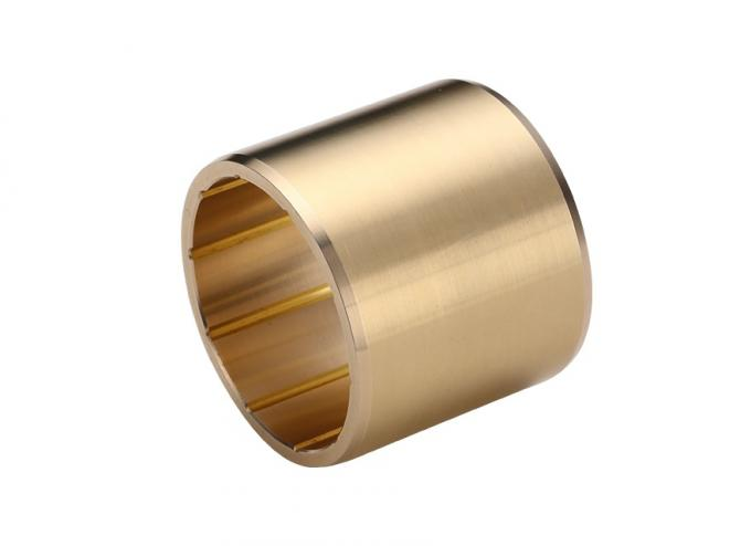 Low Friction Coefficient Copper Sleeve Maintenance Bushings For Injection Molding Machine