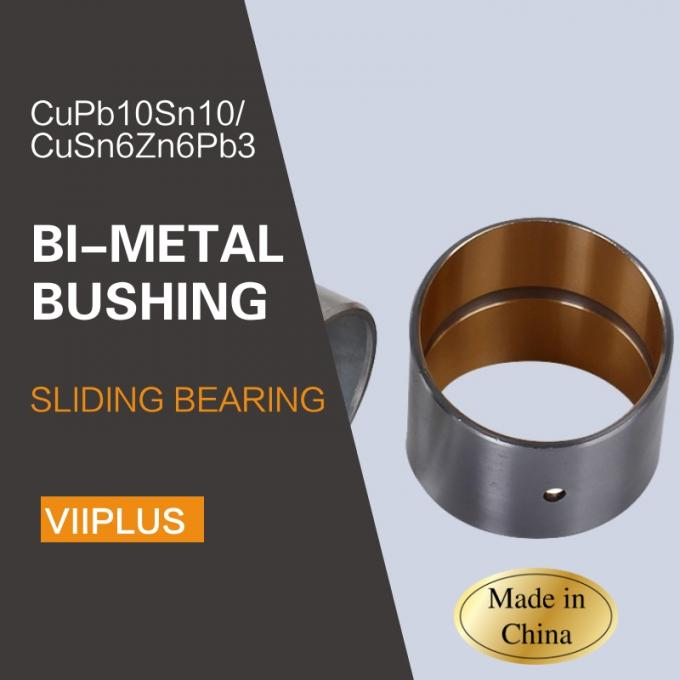Engineering / Bimetal Bushings / Material Cupb10sn10 & Cusn6zn6pb3 Track Roller Bushes