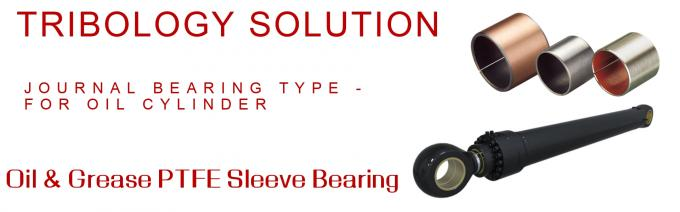 Choose The Right Material Of Cylinder Guide Bearing Collar Flanege Sleeve Bronze & Plunger Rod Ear