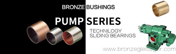 Hydraulic Cylinder Bushings Solutions For Hydraulic Pumps And Motors Shaft Bearing & Wear Plates