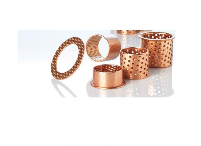 Forage Harvesters & Headers Wrapped Bronze Bearings Inner Diameter D Mm170