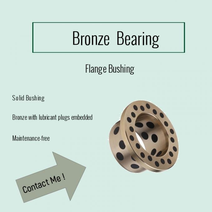 CuAl10Ni C95500 Bronze Bearings One-Stop