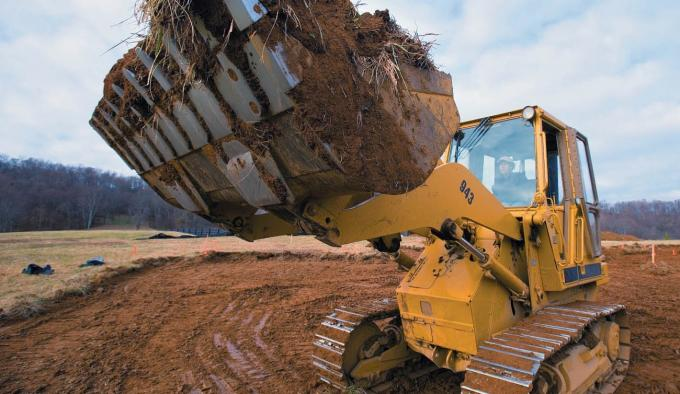 Excavator self - lubricating bearing applications