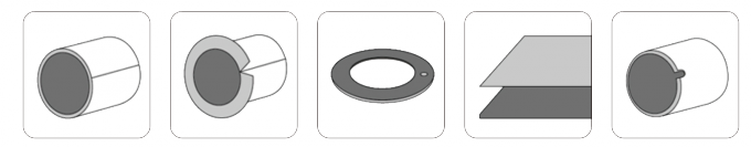 Structure of self - lubricating bearings