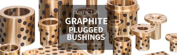 graphite plugged bushings