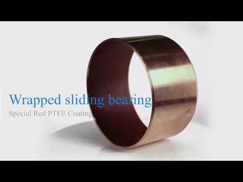 Pump Shaft Sleeve Flanged Customized Red Ptfe | Why Buy CHINA | Bushings solutions