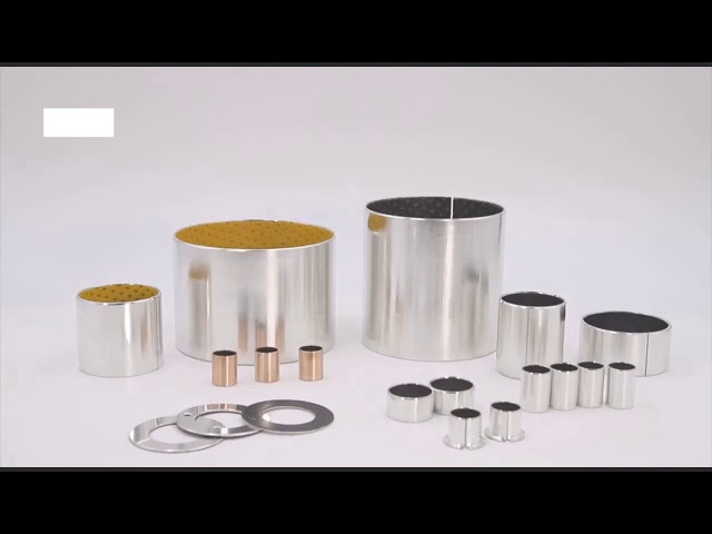 POM Bushings Solutions For Industrial Replacement DX Gleitlager