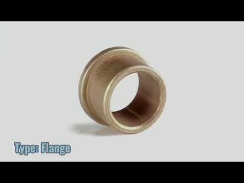 ISO 9001 Passed Plain Sleeve Bearing Food Processor Blender Bushings