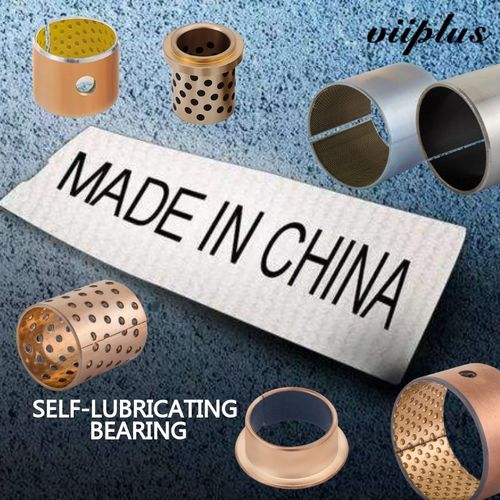 china latest news about Tolerance Housing H7 Steel Copper-Plated Or Tin-Plated Bimetal Bushing For Track Rollers, Construction Machines, Crane Construction, Agricultural Machines