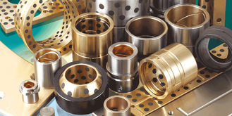 C86300 ASTM UNS / SAE Casting Copper Alloy Bronze Sleeve Bushing with Graphite supplier