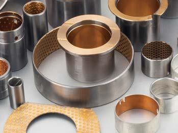 China ISO 9001 Bimetal Bearing Bushes Bimetallic Strip For Transmission Gear Box factory