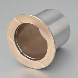Bimetal-Bushings JF800 | Self Lubricating bearings Wrapped steel bushing & split carbon steel bronze alloy CuSn10Pb10 supplier