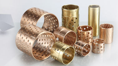 Diamond Oil Hole Bronze Bushing Material CuSn8 Or CuSn6.5 Sheet Plate supplier