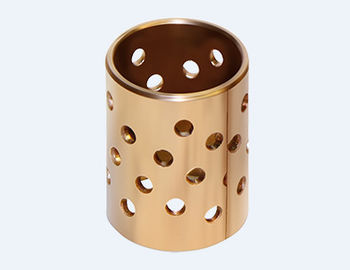 China Cylindrical Self Lubricating Plain Bearing , Metric Bronze Bearings Vsb-22 factory