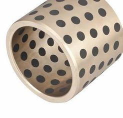 Plug Graphite Cast Bronze Sleeve Bushings High Strength Wear Resistant supplier