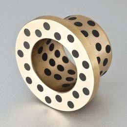 Self Lube Graphite Plugged Bronze Bushings Plate Shape ISO 9001 Approved supplier