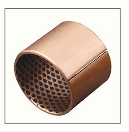 Oil Lubrication CuSn8 Bronze bushings for Offshore, 09G Bronze Graphite Bushings supplier