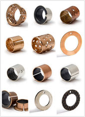 China CUZN25AI5MN4FE3 PLUG GRAPHITE CAST BRONZE BEARINGS FOR LOADING MACHINE & EXCAVATOR | SOLID SLEEVE BUSHING factory