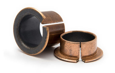 China Weave Fiber Reinforced PTFE Bronze Steel Bushing Size Custom Assembly factory