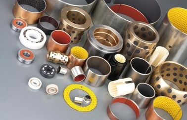 Oil Impregnated Bronze Bearings | Grease-lubricated composite bearings - PTFE/POM coated bushings supplier