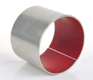 Steel Sleeve Red PTFE Fibre Bushing inch Size - Replacement Shock Absorber Bushes for heavy trucks supplier