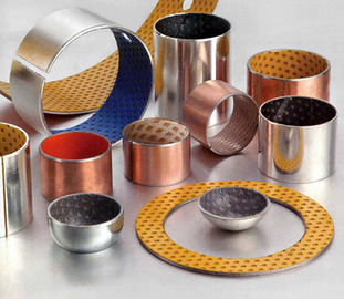 China Metal Sliding Bearing Polyacetal Resin Bushing factory