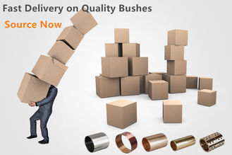 China Oilless Self Lubricating Plain Bearing , Bronze Sleeve Bearings VSB-22 factory