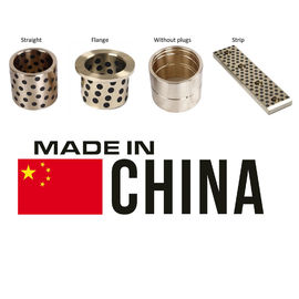 Plug Graphite Sleeve Guide Inch Sized Bushings , Bronze Graphite Bushings daido metal Standard supplier