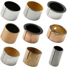 China Steel Backed Ptfe Lined Bushings Lubrication Free With Excellent Wear Resistance factory