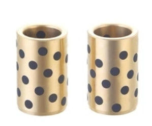 China Self Lube Bronze bushings | CuZn25AI5Mn4Fe3 Plug Graphite Sleeve Bearings for Forest Machine factory
