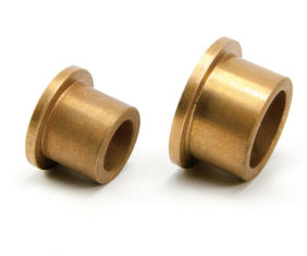 Powder metallurgy plain bearing | Sintered Bronze Bushings Guide Sleeve For Butterfly Valves , DN A50 DIN supplier