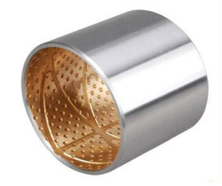 Material CuPb30 SAE48 JF700 BiMetal Bushings Plain Bearing For Agricultural Machine supplier
