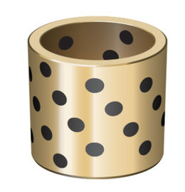 C86300 C86200 Solid Bronze Bushing Lubricant Plugs Embedded DIN 1850 ISO 4379 supplier