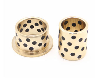 Gasket Cast Bronze Graphite Plugged Bronze Bushings | Oilless Bearings supplier