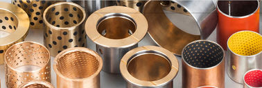 C86300 Manganese Bronze Sleeve Bushings , Self Lubricating Bush Mediate Load supplier