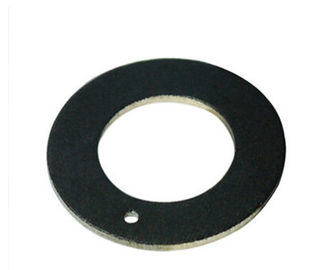 China Woven Pfte Thrust Washer Self Lubrication Thrust Bearings Stainless Steel Backing factory